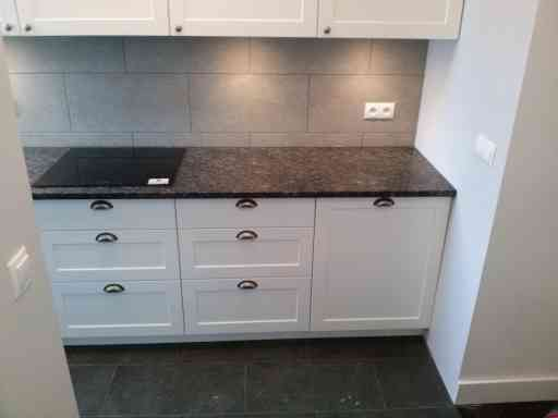 KITCHEN made of saphiure blue granite - 3 cm thick