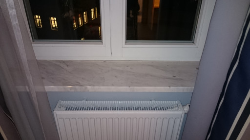 WINDOW SILLS made of greek drama white marble