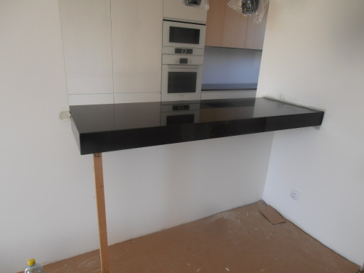 BAR COUNTERTOP made of absolute black granite