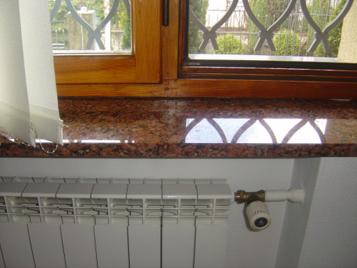 WINDOW SILLS made of balmoral granite