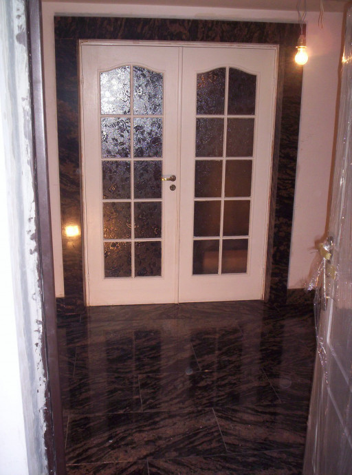 PORTAL AND FLOOR made of Amadeus granite